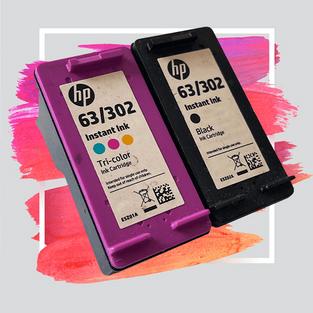 HP-63/302-BLACK / COLOUR