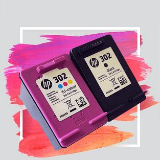 HP-302-BLACK / COLOUR