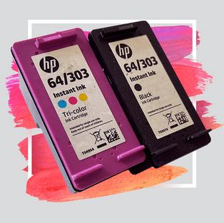HP-64/303-BLACK / COLOUR