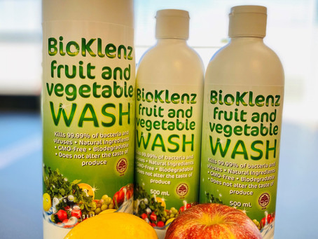 BioKlenz Fruit and Veggie Wash launched!