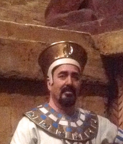 Messenger in Aida