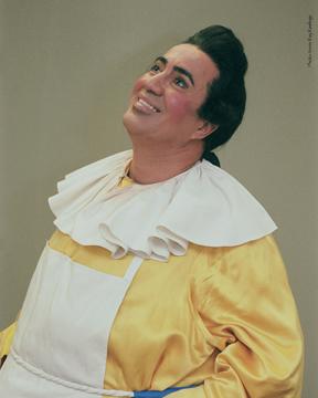 Eduardo as Brighella in Ariadne