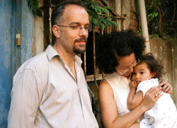 Paolo Girardelli and family