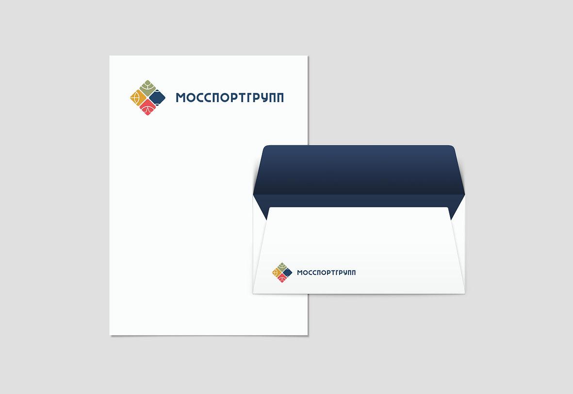 логотип логотипы фирменный стиль брендбук айдентика заказать логотип мосспортгрупп спорт москва заказать логотип в москве создание фирменного стиля брендинг разработка логотипа компании logo design студия дизайна студия паровоз айдентика в москве