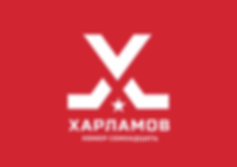 валерий харламов логотип фирменный стиль айдентика брендбук фирменный стиль турнира хоккейный логотип дизайн студия в москве дизайн студия паровоз брендинг заказать логотип