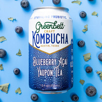 Yaupon Tea Kombucha by Greenbelt Texas