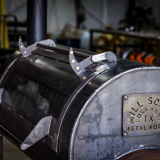 94 Gallon Smoker by Mill Scale Metalworks