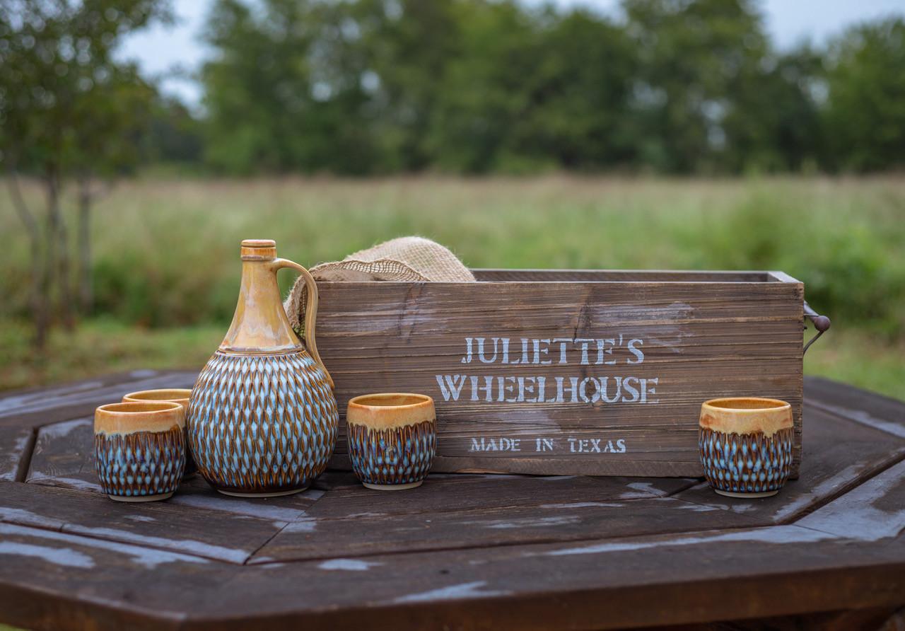 At Home Winner: Drams & Dribbles Decanter Set by Juliette's Wheelhouse