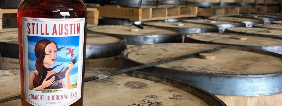 Drinks Winner: Straight Bourbon Whiskey by Still Austin Whiskey Co.