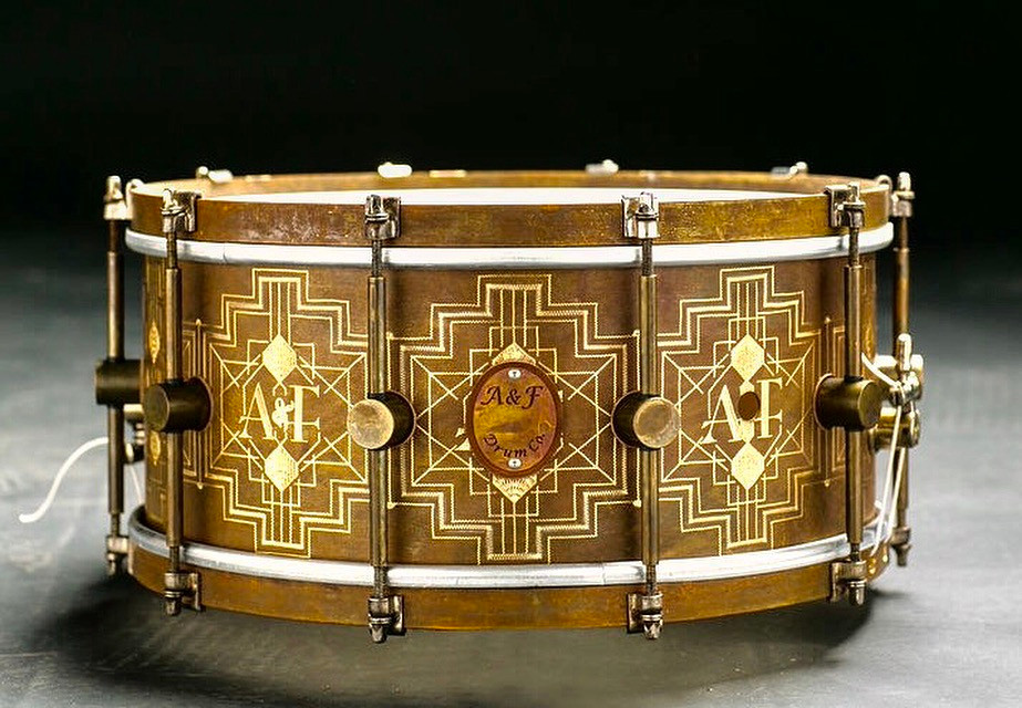 Grand Prize & Workshop Winner: The Royal Elite Snare by A&F Drum Co.