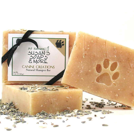 Canine Creations Shampoo Bar & Liquid By Susan's Soaps and More