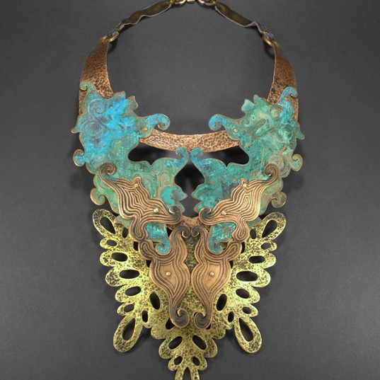 Copper & Brass Adornments by Dawna Gillespie