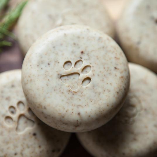 Wild Earth and Mugwort Pet Shampoo Bar by Chloe Mason Soap Co.