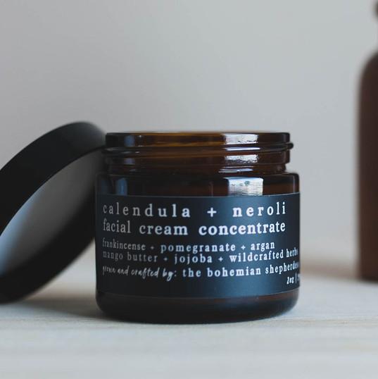 Calendula and Neroli Facial Cream Concentrate by The Bohemian Shepherdess