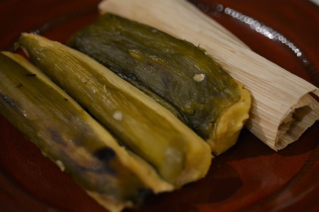 Food Winner: Sweet Corn Hatch Tamales by Chata's Kitchen