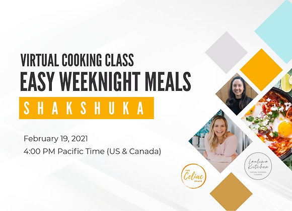 Virtual Cooking Class - Easy Weeknight Meals: SHAKSHUKA