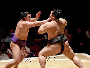 SUMO IS NOT FOR SISSIES!