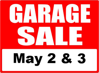 Annual LIA Garage Sales May 2nd & 3rd
