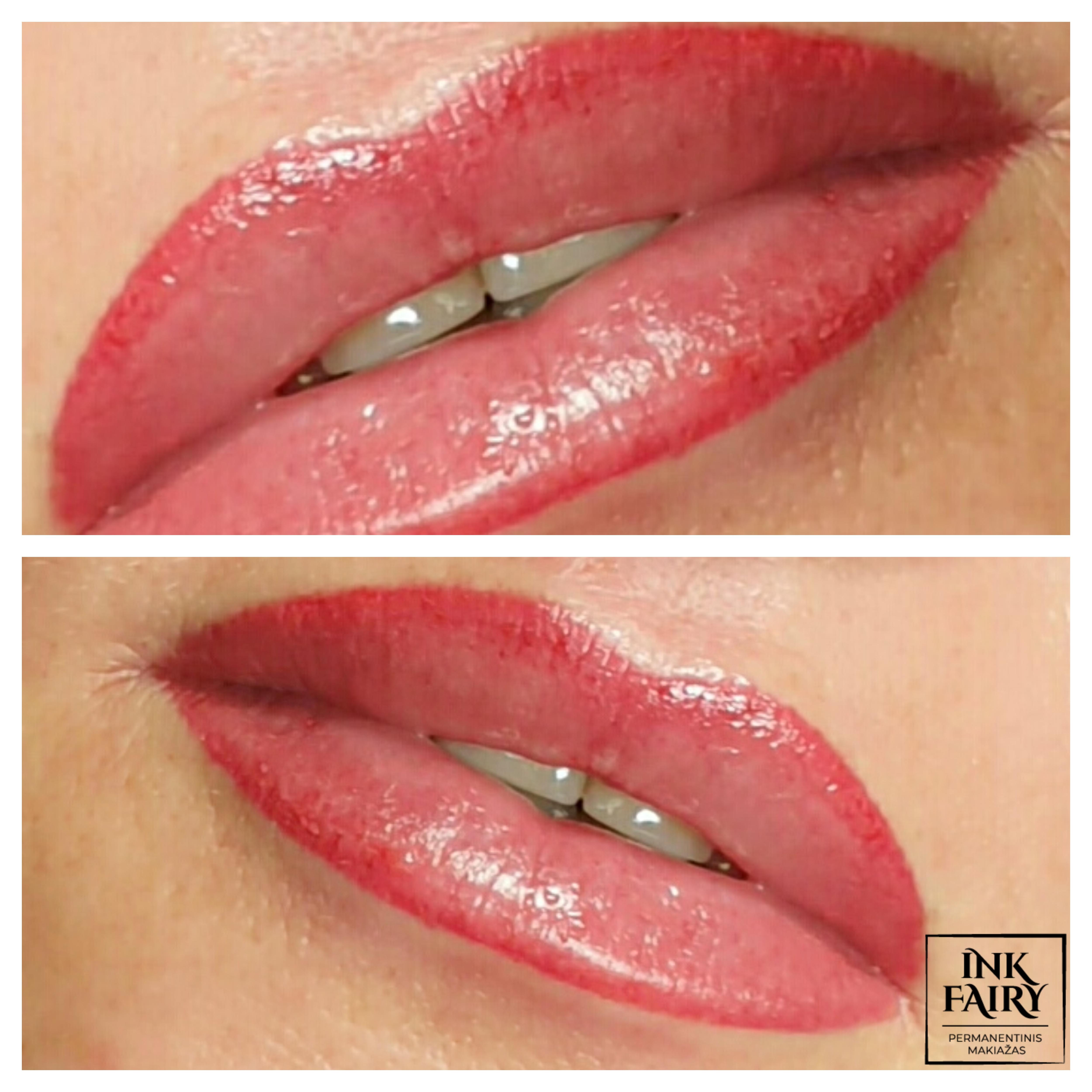 Akvarelinės lūpos