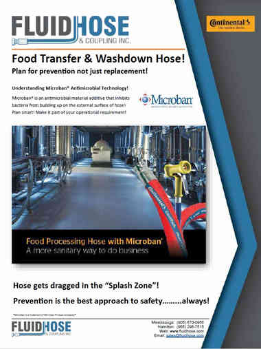 Fluid Hose Food Transfer and Washdown Hose