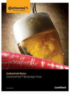 Continental ExtremeFlex Beverage Hoses
