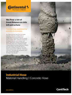Continental Material Handling - Concrete Hoses
