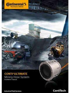 Continental Mining Hose System