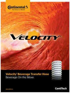 Continental Velocity Beverage Transfer Hose