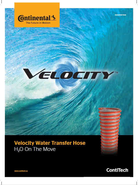 Continental Velocity Water Transfer Hose