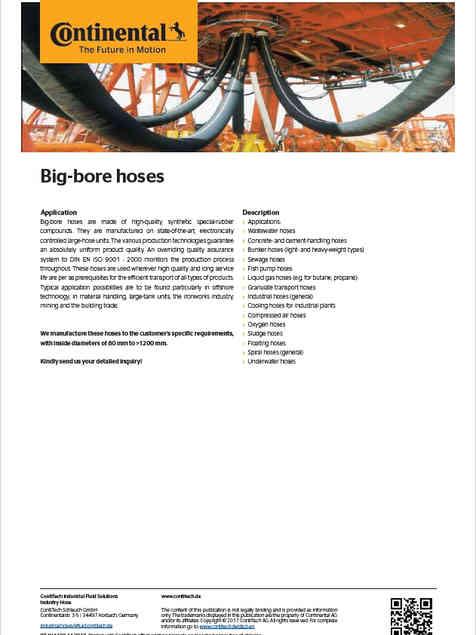 Continental Big-bore Hoses