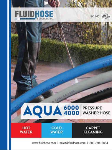 Fluid Hose Aqua Pressure Washer Hose