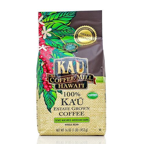 Kau Coffee Mill Semi Washed Medium Dark