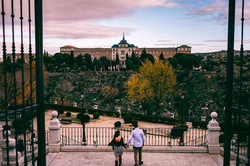 Nuestras fotos Preboda en nuestros rincones favoritos de Toledo.