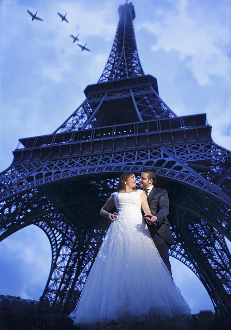 París es nuestra ciudad preferida.