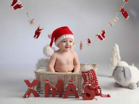 Sueños de Navidad + Fotografia infantil + Fotografia recien nacidos + reportajes Hellin + bebes alba