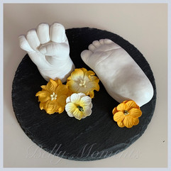 3D Hand- und Fußabdruck