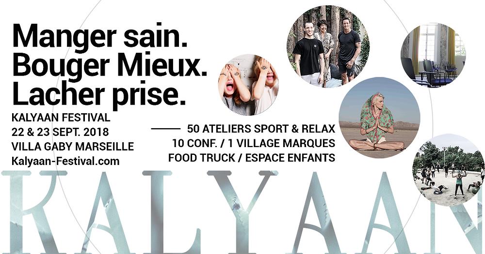 Kalyaan festival, bien être, naturopathie, detox, Marseille
