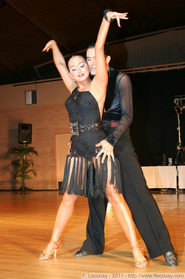ELENA SALIKOVA -latindress - dancesport