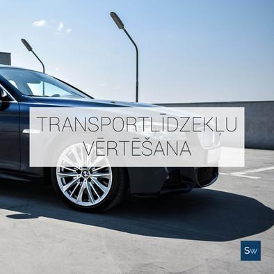 transportlīdzekļu vērtēšana, auto vertesana, sertificeti eksperti, senwalds