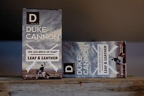 Big Ass Brick Of Soap- Leaf & Leather