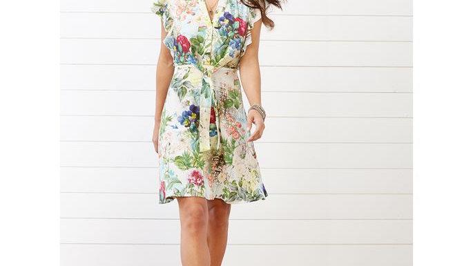 Flower Tie Dress