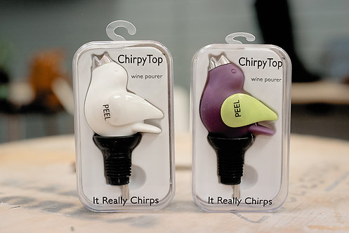Chirpy Top Wine Pour