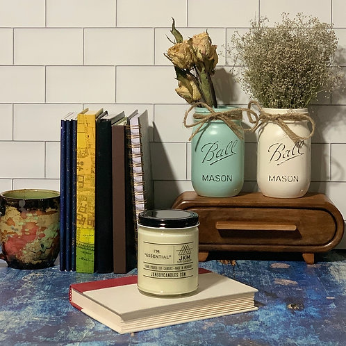 """I'm """"Essential"""" Soy Candle"""