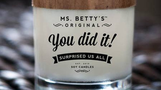 You Did It! Candle