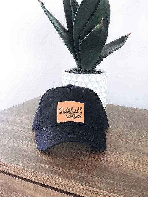 Softball Mom Baseball Hat
