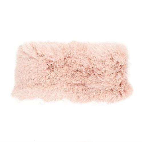 Pink Angora Headband