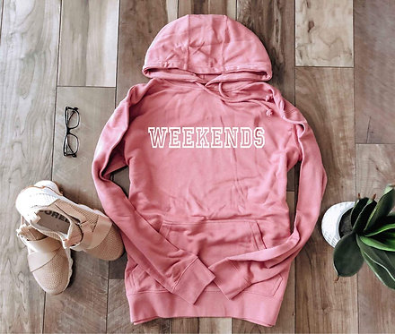 Weekends French Terry Hoodie