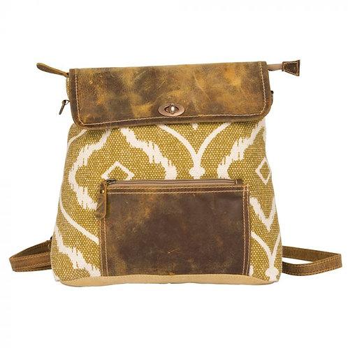 Brown Mustard Backpack