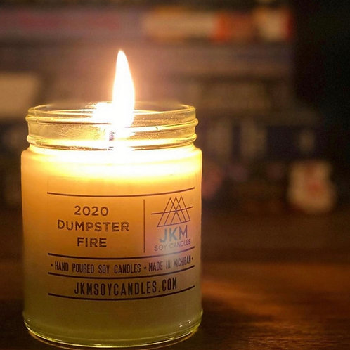 2020 Dumpster Fire Soy Candle
