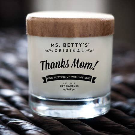 Thanks Mom! Candle